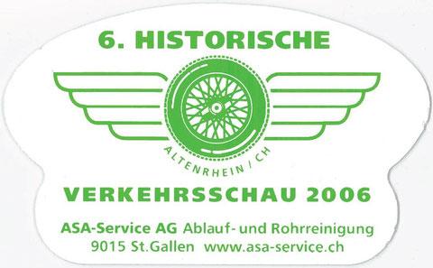 """Im 2006 fand das nun 6. """"Herbst""""-Treffen seit Beginn der """"Alten Garage"""" in Altenrhein statt."""