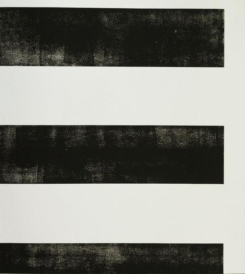 o.T., 2016, 97 x 102,5 cm, Hochdruck auf Büttenpapier