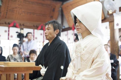 宇多須神社挙式風景