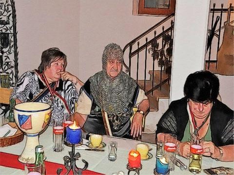 Unsere Gäste vom Aggsteiner Ritterbund