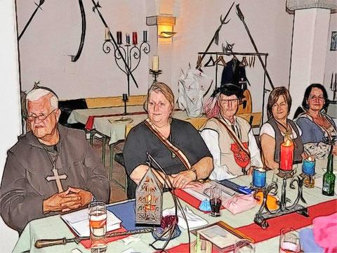 Gäste von den Freien Ritter zue Waxenberg