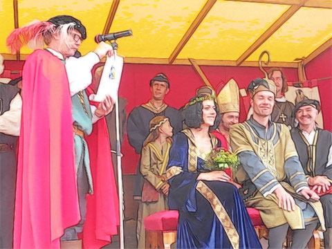 Glückwünsche von Großmeister Friedericus von Gera