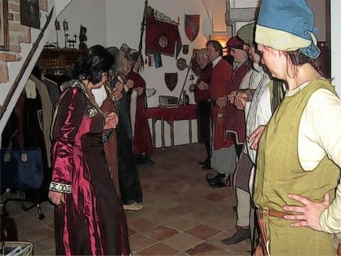 Auch Kuerenberger nehmen an einem Tänzchen teil