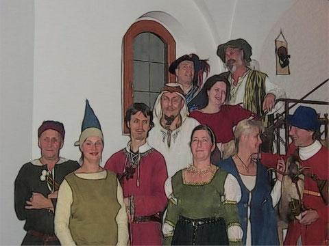 Tanzgruppe mit Musica