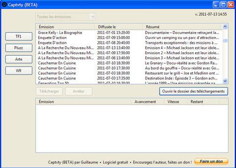 Catch-up TV Downloaders - Le Portail de la gratuité