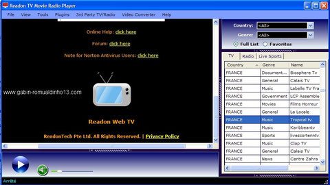 GRATUIT MOVIE GRATUITEMENT TÉLÉCHARGER TV PLAYER READON