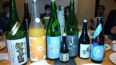 日本酒あれこれ。