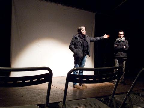 Sophie Averty présente son film, Culture en Marche, Nantes, mars 2014
