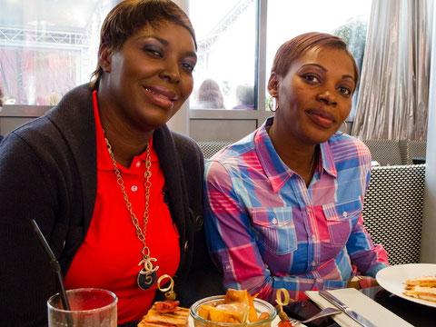 Rencontre avec deux des grévistes, Débora et Ursula