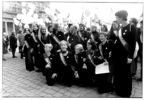 Marche Mondiale des Femmes, Bruxelles, 2000.