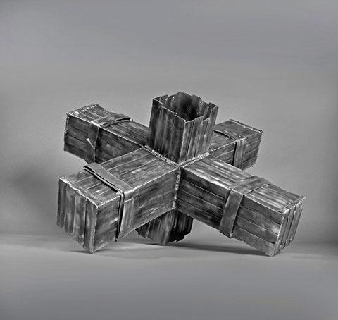 L4,110 x 110 x 70 cm, Aluminium, 2010