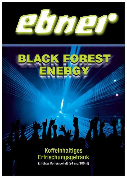 Black-Forest-Energy, Erfrischungsgetränk, Ebner, Fruchtsäfte, koffeinhaltig