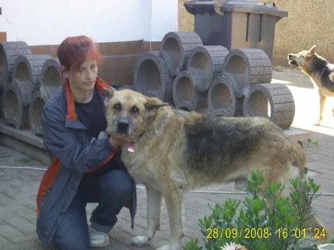 mit Sabine Nowack + hinten Tami