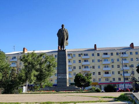 Памятник Ленину на пл.ЛЕНИНА