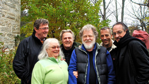 von links: E.S. Pam Plymell, Gerard Malanga, Charley Plymell, Jimmy Flynn, Heinz D. Heisl