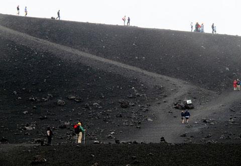 Vulkan Ätna 2.900 Meter Foto:Preller