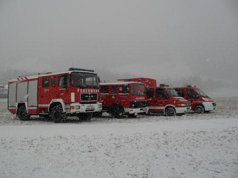 Die FF Kolsass verfügt zur Zeit über 4 Fahrzeuge: