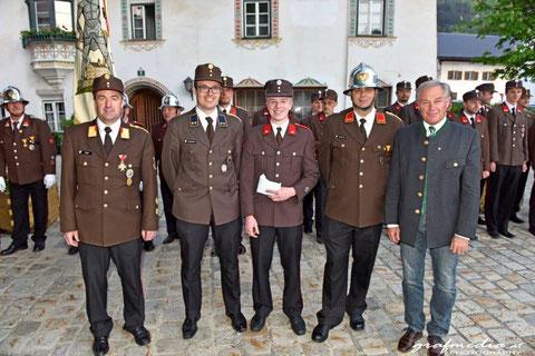 Beförderung zum Löschmeister: FM Clemens SCHMIDT