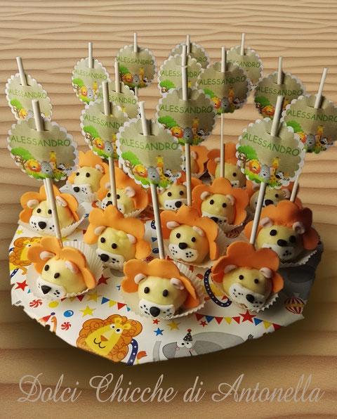 cake pops animali-cake pops copleanno-la spezia