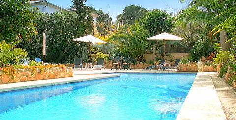 Ferienwohnunen Mallorca, Casa Monica, Pool