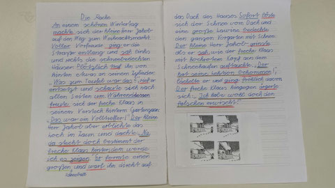 Präsentationsecke - Grundschule Jägerstraße in 27798 Hude