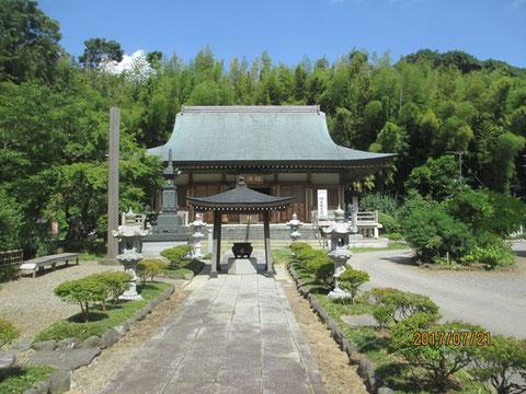 福満寺の本堂