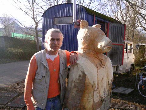 Construction from bear ..Februar 2014..