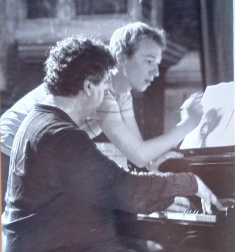 Michaël Levinas et Alphonse Cemin, Cordes-sur-Ciel 2010