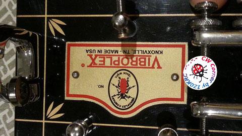 Vibroplex Original 100° Anniversary - New plate