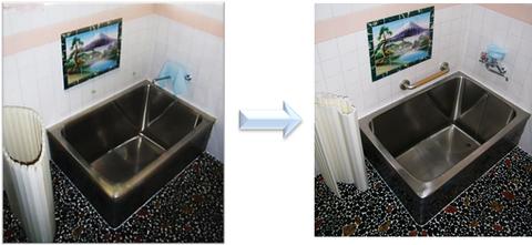 浴室の手すり 改修 事例