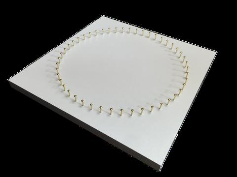 糸かけ曼荼羅制作用板