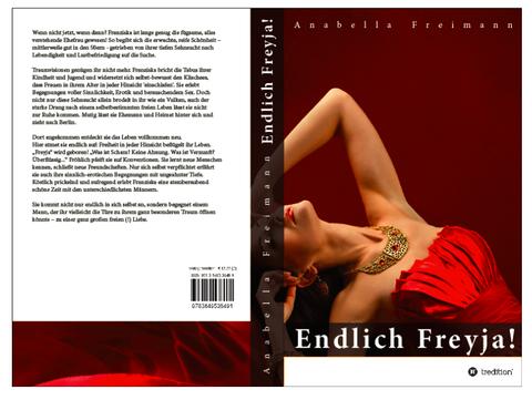 """Buchcover """"Endlich Freyja"""""""