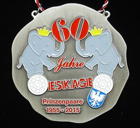 ESKAGE 60 Jahre Prinzenpaare 2015