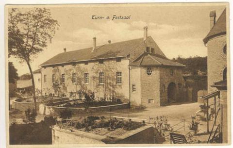 Turnsaal/Festsaal ca. 1920
