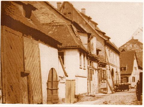 Apostelgasse um 1900