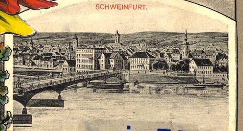 um 1912 - Ausschnitt aus obiger patriotischen Postkarte