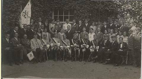Studenten 1910 in Schweinfurt