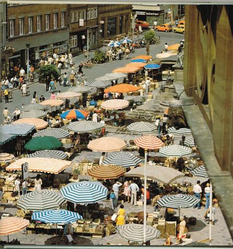 Als der Marktplatz noch Markt war.....