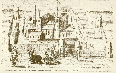 Kloster Theres kurz nach 1700