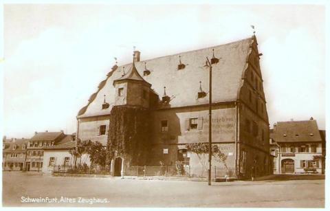 Das Zeughaus um 1920