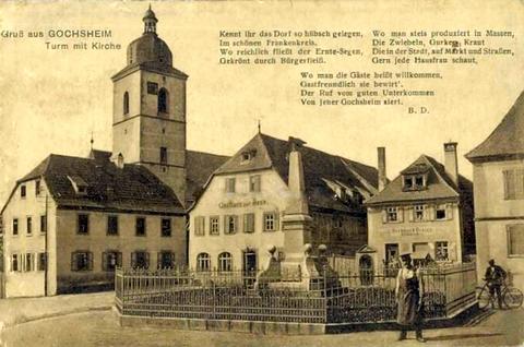 Gochsheim um 1910