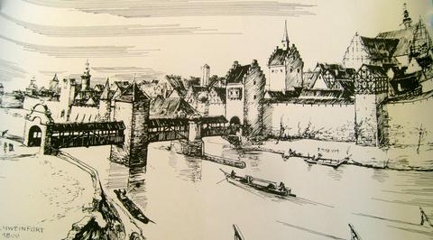 Zeichnung um 1800