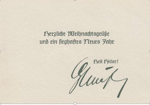 """1940: Lohntüte """"Zweig mit Kerze"""" (zweifarbig) / Weihnachtsgeld: 30,61 RM (Bild 1a, Sammlung Gerhard Fiedler)"""