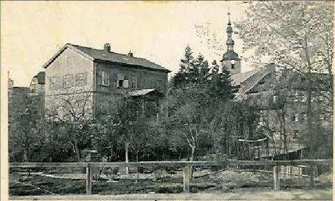 Am Marienbach um 1905