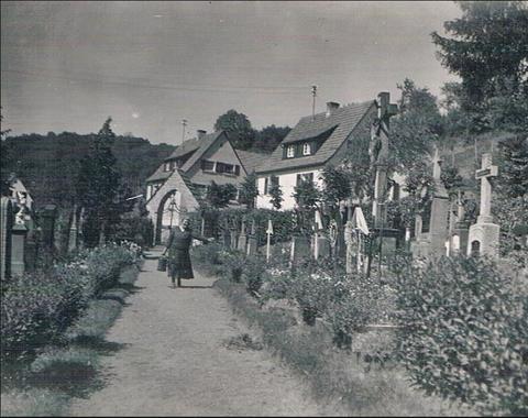 Mainberg Friedhof um 1939