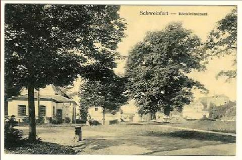 Die Böcklinsinsel um 1910