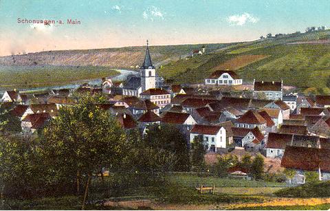 Schonungen um 1912