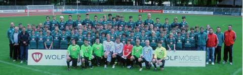 Jugend des 1. FC Schweinfurt 1905 - bitte vergrößern!