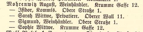 Adressbuch 1886