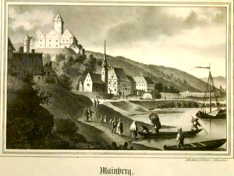 Schloss Mainberg - 1840